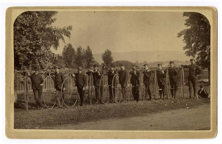 Cool photos of late-19th-century bicycle gangs-