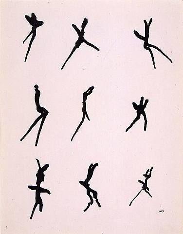 Henri Michaux, Mouvements
