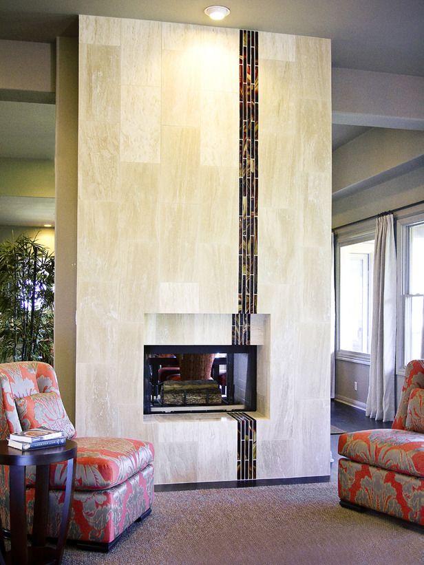 Fireplace Design modern tile fireplace : 10 best Fabulous Fireplace Ideas images on Pinterest