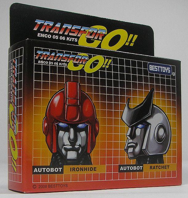 Best Toys Custom Heads for Transformer Encore 05 Ironhide … | Flickr ...