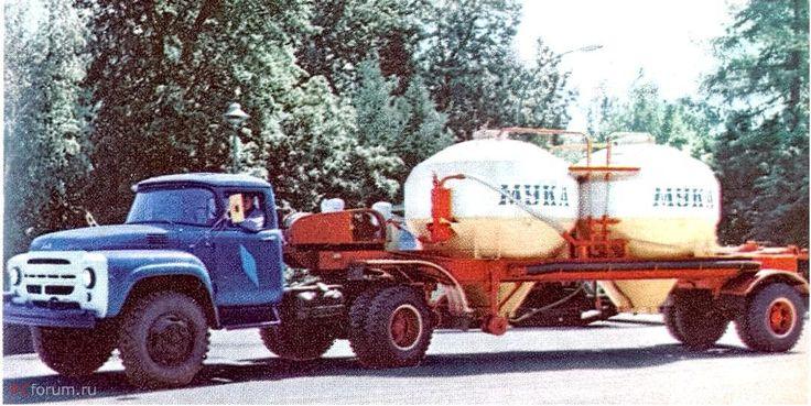 36 ЗиЛ-130В1 с п-пр- К-1040Е (мука) 1968