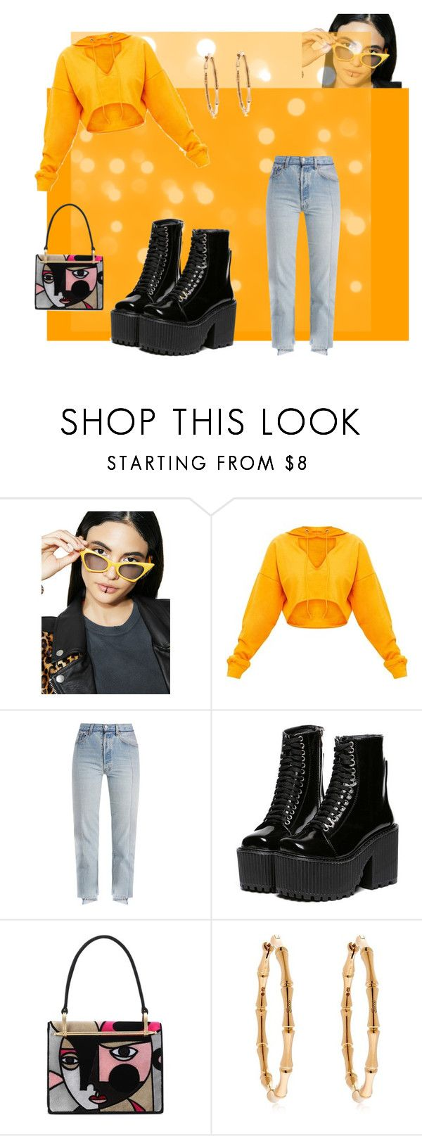 """""""Untitled #123"""" by yejidelove on Polyvore featuring THE COBRA SNAKE, Vetements, Prada and Gucci"""