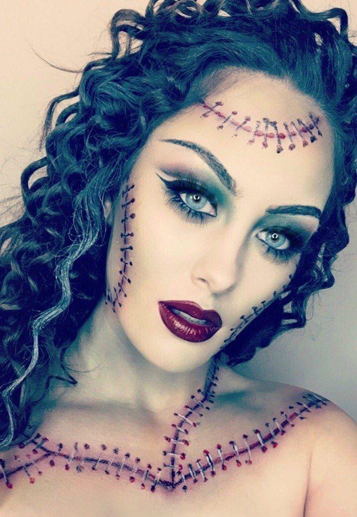 Tatenkopf schminken attraktive Ideen