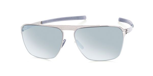 Ic! Berlin M1335 Sebastian S. Chrome - Teal Mirror Sunglasses