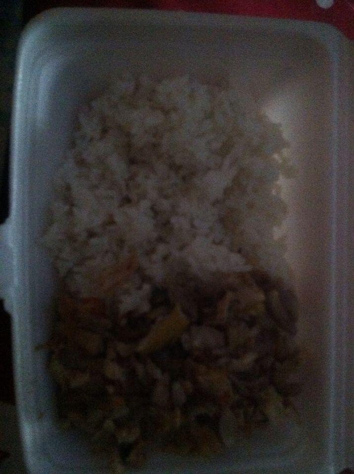 Nasi ayam bumbu bali