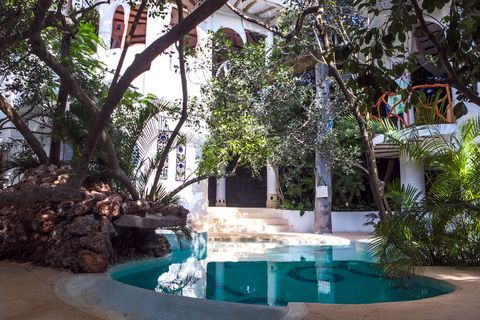 Cool-pool at Treehouse