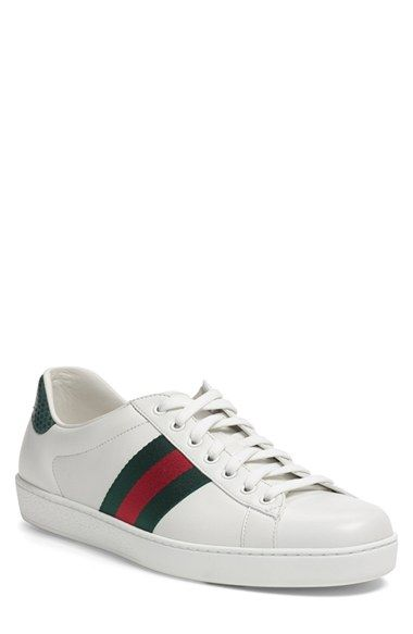 Gucci 'New Ace' Sneaker (Men) available at #Nordstrom