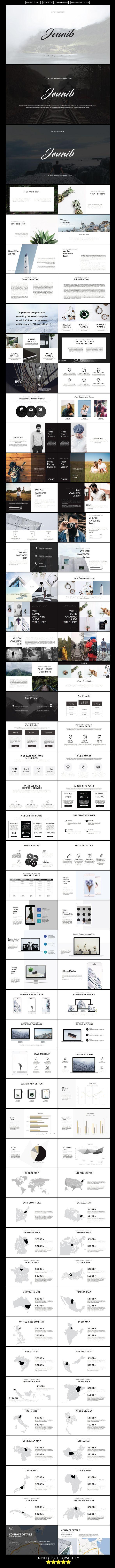 Jeunib Multipurpose Keynote Template — Keynote KEY #seo #advertisement • Download ➝ https://graphicriver.net/item/jeunib-multipurpose-keynote-template/18834131?ref=pxcr