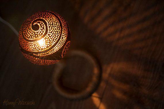 Coconut nightlight Curl от ksunnywazowski на Etsy