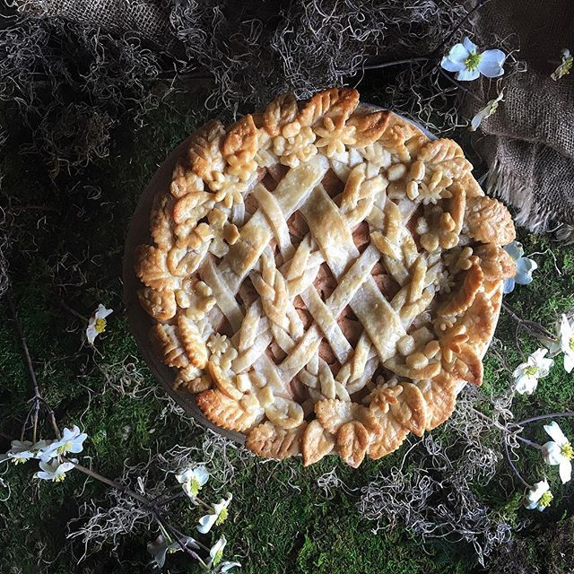 My Springtime Garden Wreath #Pie blossomed into a golden crown. Now onto important matters, raise…