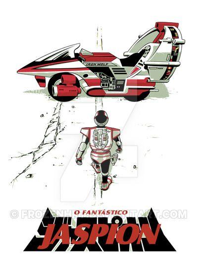 Jaspion by FrozenHRT                                                                                                                                                                                 Mais