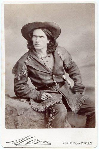 Kit Carson Jr Armed 1870s Cabinet Card Photo by Mora Buffalo Bill Wild West Show | eBay