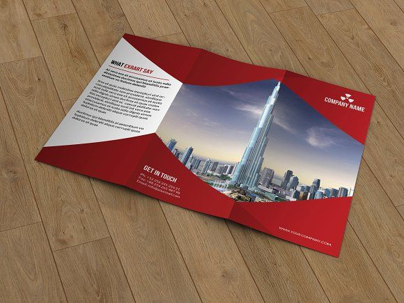 Trifold Corporate Brochure -T176 by Template Shop on @creativemarket brochure design templates 3 fold brochure template tri fold brochure design leaflet template tri fold brochure template word online brochure maker print brochures 3 fold brochure brochure template