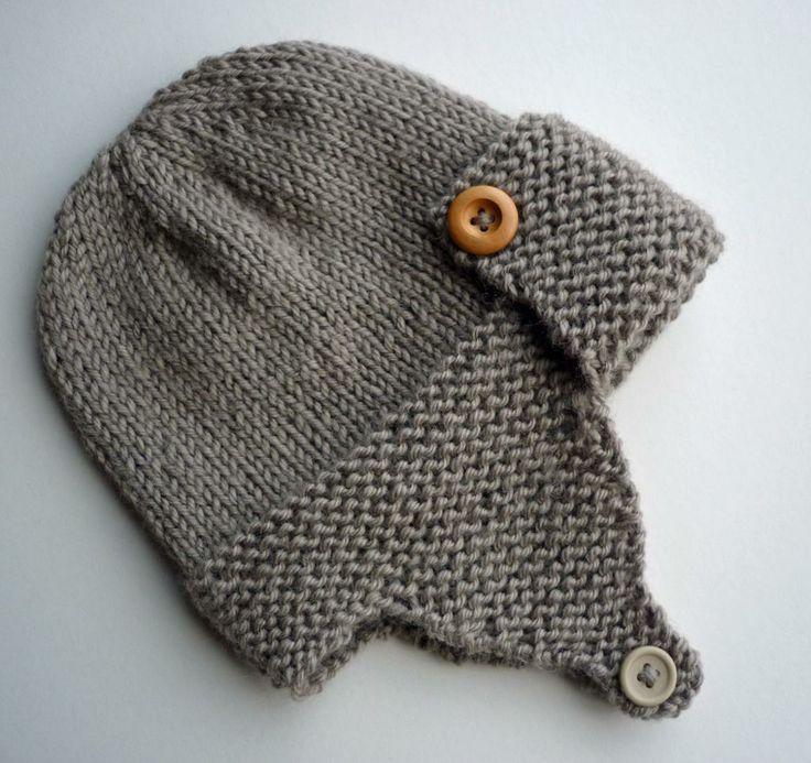 Knit Baby Hat Pattern Pinterest : Baby Hat Pattern Knitting Knitting/Crochet/Crafts Pinterest
