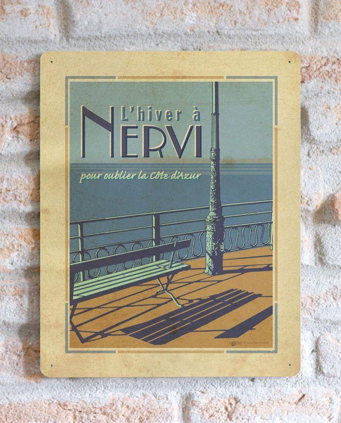 Nervi Genova | TARGA | Vimages - Immagini Originali in stile Vintage