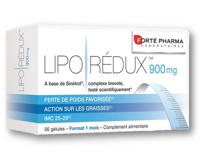 Forte Pharma Lipo Redux 900mg Μείωση Της Περιφέρειας Μέσης Ισχίων Κοιλιάς 56caps. Μάθετε περισσότερα ΕΔΩ: https://www.pharm24.gr/index.php?main_page=product_info&products_id=7462
