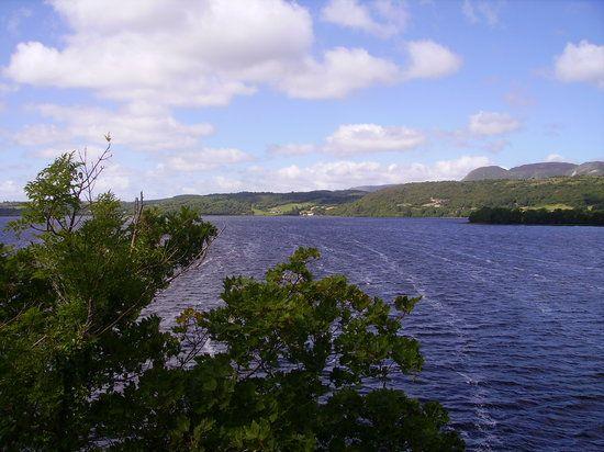 The Lough Gill Drive, Sligo: Drive with lake views & castle