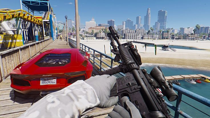 GTA 5 Mods - REAL LIFE GRAPHICS MOD #2! GTA 5 Real Life Graphics Mod Gam...