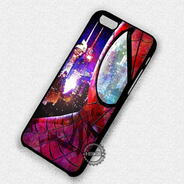 Eye Reflection of The Spiderman - iPhone 7 6 5 SE Cases & Covers