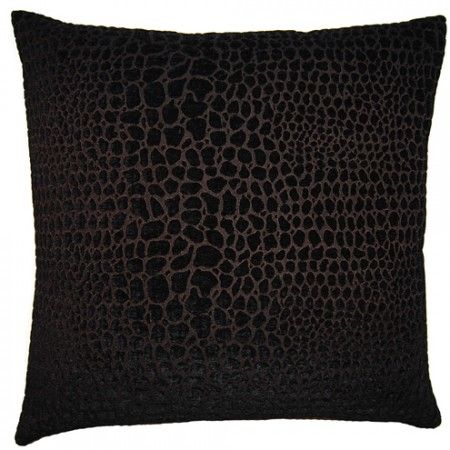 Black & White Cheetah 22x22 #couture #pillow #squarefeathers www.squarefeathers.com