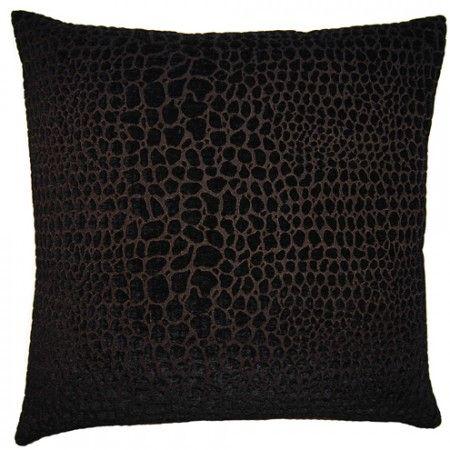 Black & White Cheetah 22x22 #couture #pillow #squarefeathers www.squarefeathers.com