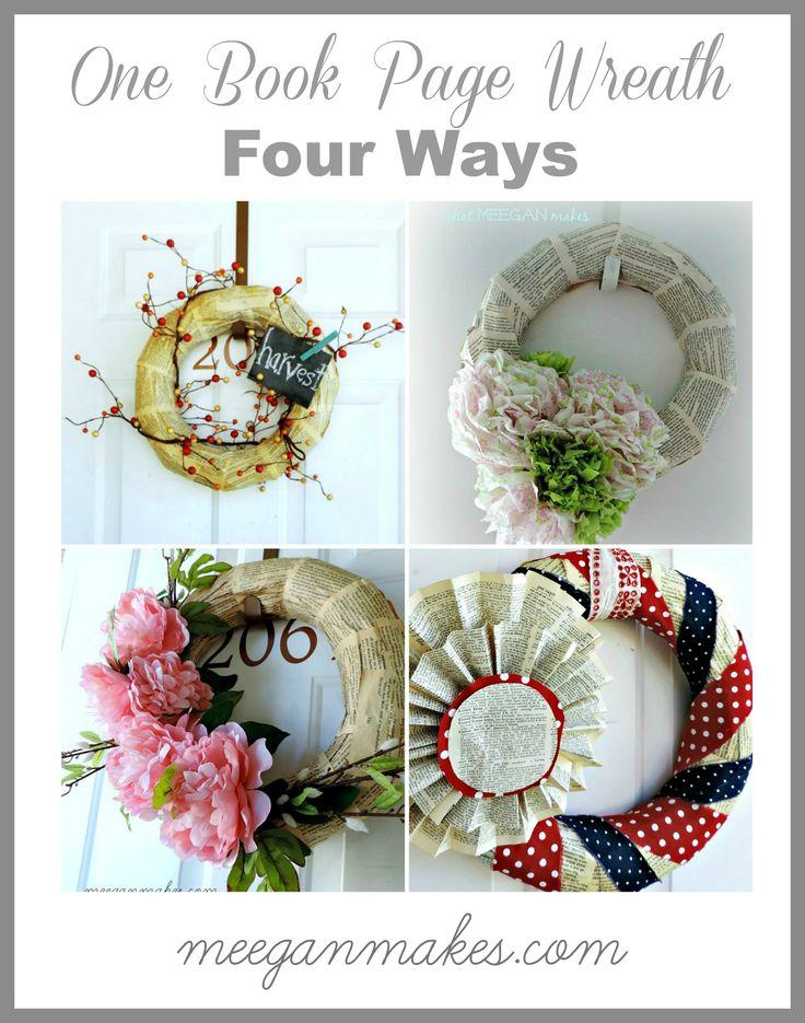 One Wreath Four Ways