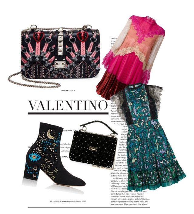 """valentino Love"" by sarahshopaholicc on Polyvore featuring Valentino"