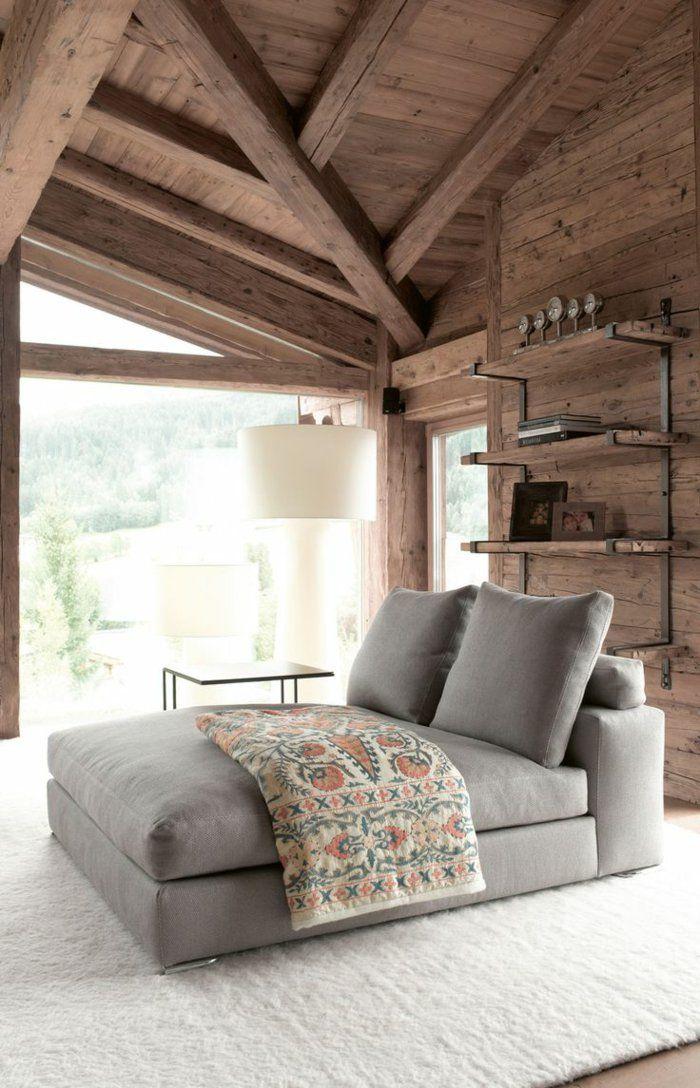 400 best id es d co pour chalets en bois images on. Black Bedroom Furniture Sets. Home Design Ideas