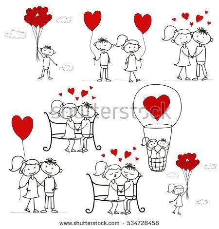 Love. Heart. Valentine's Day. I love you