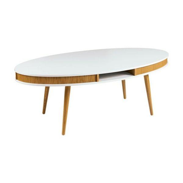Couchtisch Holz Runde Ecken ~ Ovale Couchtische lassen Ihr Wohnzimmer ästhetischer aussehen  http