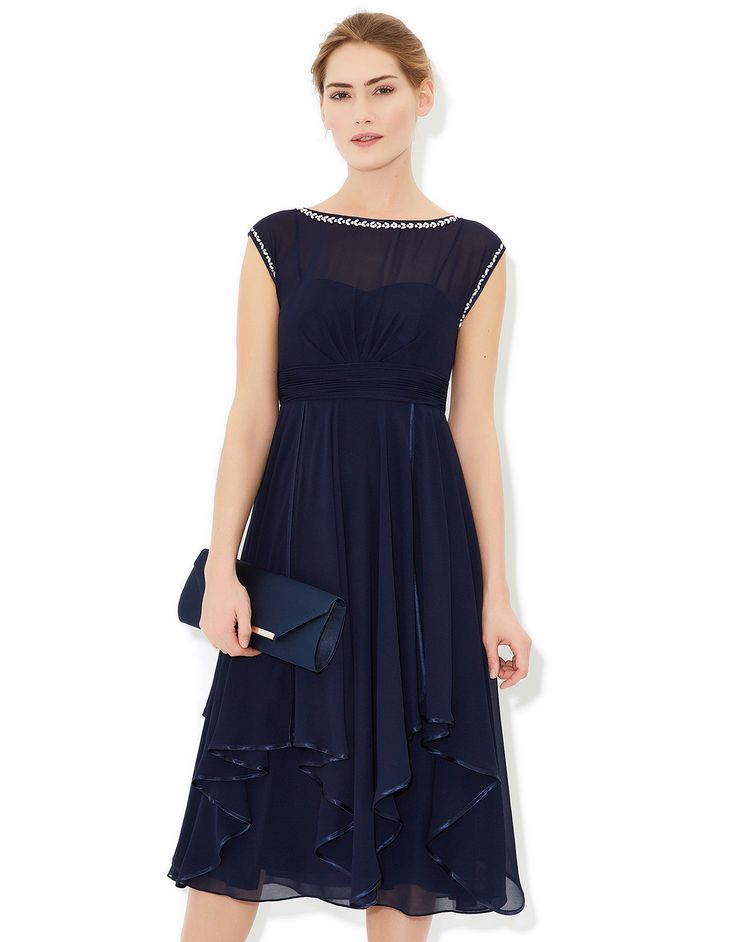Anya Dress | Navy | Monsoon