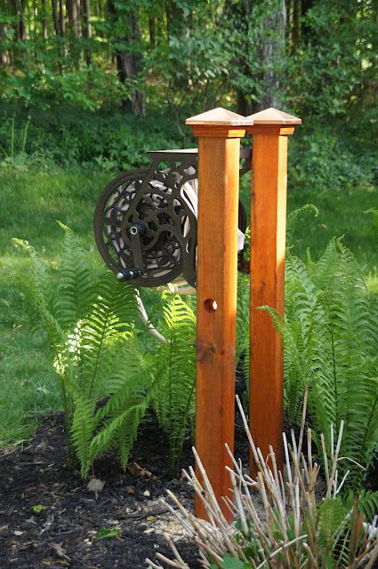 17 Best ideas about Garden Hose Reels on Pinterest Garden hose