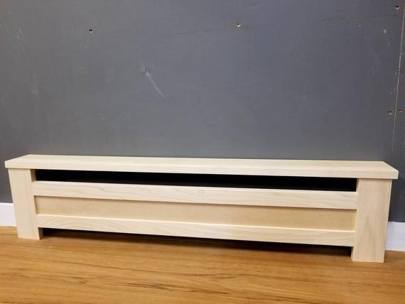 Shaker Style Custom Baseboard Heater Covers Custom