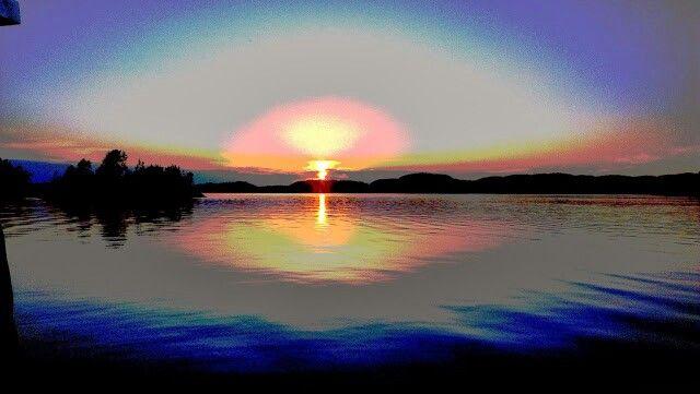 Sunset in my little peace of heaven..
