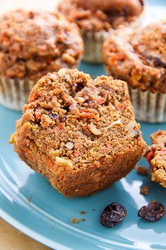 My Favorite Morning Glory Muffins by bakerbynature #Muffins #Morning_Glory