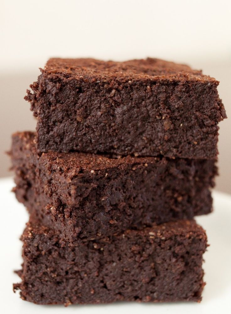 Almond Flour Brownies (4 net carbs). Easy and delicious. - Click image
