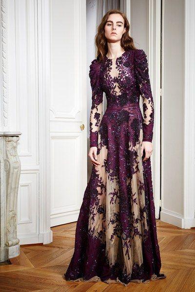 Zuhair Murad Pre-Fall 2016 collection. #vestido de renda  #vestido de festa renda, lace gown, long sleeve lace dress, vestido de festa manga longa