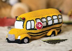 Ravelry: Back to School Bus Toy pattern by Megan Kreiner