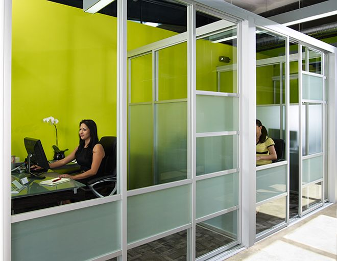 Commercial office interior macoffice pinterest the o for Commercial interior sliding glass doors