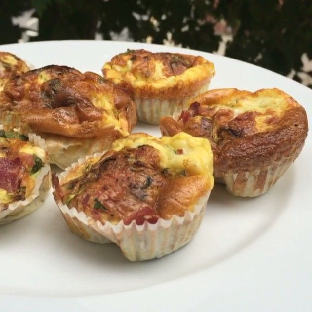 Try my little low carb breakfast muffins  3 eggs Courgette  Sliced ham Feta cheese Fresh coriander  Salt and pepper  10 mins in the oven at 200 degrees c  #Leanin15  #breakfast #muffins