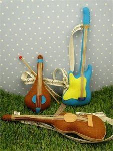Picture of Μπομπονιέρες βάπτισης μουσικά όργανα