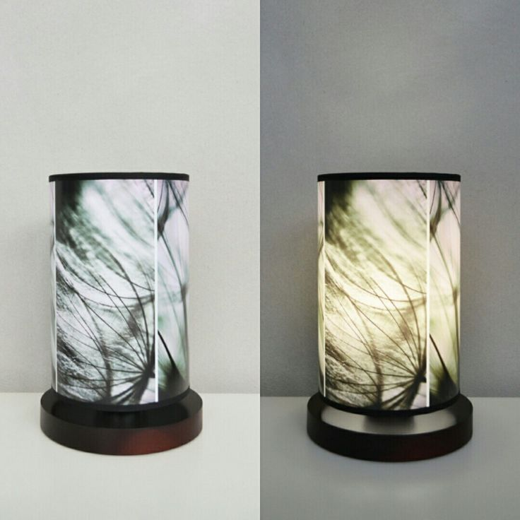Lampa nocna Tryptyk/Triptych standing lamp #fotolampy