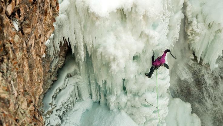 #Patagonia Alpine #Climbing Ambassador Kitty Calhoun #pingpal