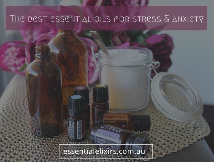 The best essential oils for stress & anxiety
