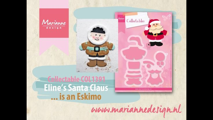 How to make an Eskimo of the COL1391 Santa Claus by Eline
