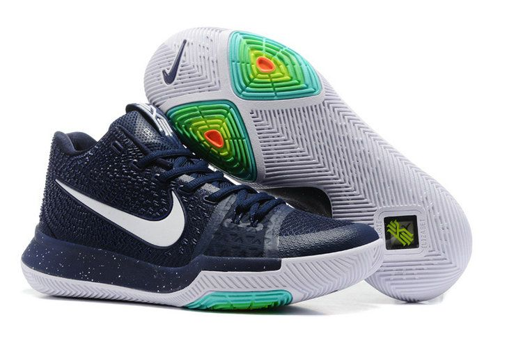sports shoes a6643 34add 2018 Official Nike Zoom Kyrie 3 Mens Basketball Shoes Dark ...