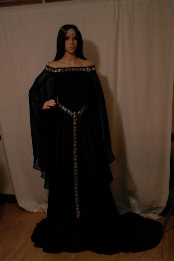Mejores 20 imágenes de Vestidos Medievales en Pinterest   Vestido ...