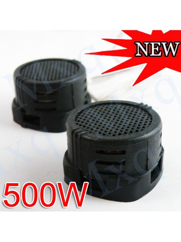 Wholesale 2015 Hot 2 Super Power Loud Stereo Audio Dome Portable Mini Tweeter Speaker for Car Auto 500W UK