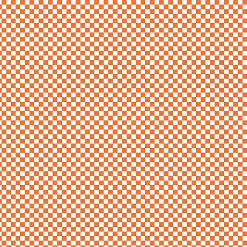 Orange and White Checkerboard 12x12 Printed Craft Vinyl 3 ...