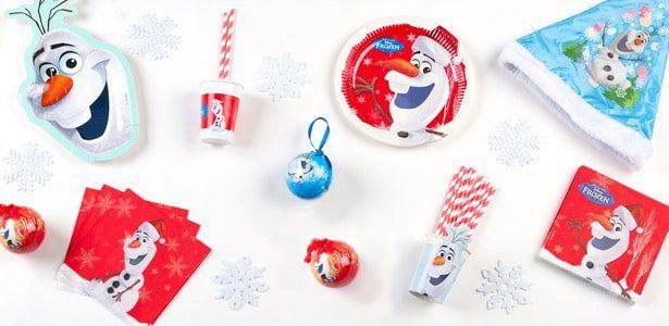 """Addobbi e decorazioni per feste a tema """"Natale con Olaf™"""" su VegaooParty"""